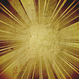 Vintage abstract sun rays Royalty Free Stock Photos