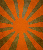 Vintage abstract sun rays Stock Images