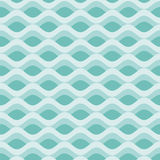 Vintage abstract waves background Stock Images