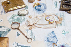 Vintage accessories Royalty Free Stock Photo