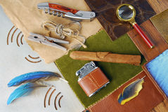 Vintage accessory concept Stock Images