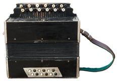 Vintage accordion (bayan). Royalty Free Stock Image