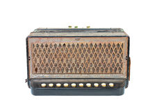 Vintage  accordion Royalty Free Stock Photography