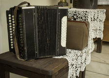 Vintage accordion Royalty Free Stock Photos