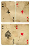 Vintage aces Royalty Free Stock Images