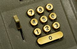 Vintage Adding Machine Stock Images