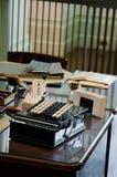 Vintage Adding Machine Stock Photo