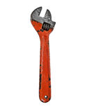 Vintage adjustable wrench Royalty Free Stock Image