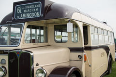 Vintage AEC Regal Coach Stock Images