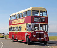 Vintage aec regent double decker bus Stock Image