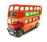 Vintage aec regent london red bus Stock Photos