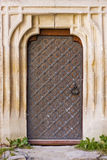 Vintage aged background old door Royalty Free Stock Photos
