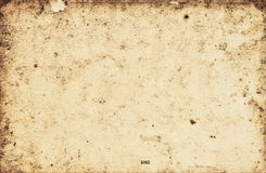 Vintage aged old paper Stock Photography