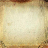Vintage aged old paper Royalty Free Stock Images