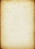 Vintage Aged Paper Background Royalty Free Stock Photography