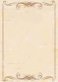 Vintage aged paper background Royalty Free Stock Photos