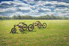 Vintage agricultural machinery Stock Photos