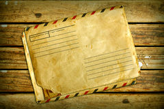 Vintage Air Envelope Stock Photography