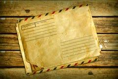 Vintage air envelope Stock Photography