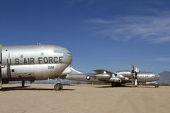 Vintage Air Force Aircraft Royalty Free Stock Photography