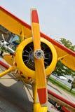 Vintage airplane Stock Photo