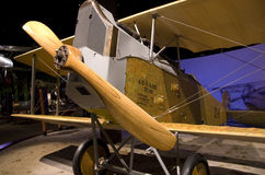 Vintage airplane in the Museum of Flight Royalty Free Stock Photography