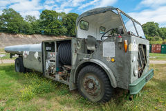 Vintage Airport Tug Vehicle. Stock Images