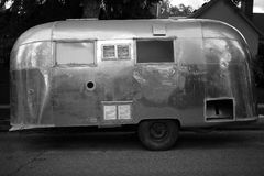Vintage Airstream Trailer Stock Images