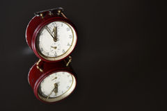 Vintage alarm clock Stock Photography