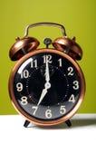 Vintage Alarm Clock Stock Image