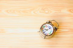Vintage Alarm Clock Backgrounds stock photo