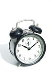 Vintage Alarm clock color black Royalty Free Stock Photo