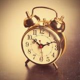 Vintage Alarm Clock Stock Photography