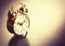 Vintage Alarm Clock Royalty Free Stock Images