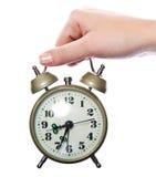 Vintage alarm clock Royalty Free Stock Image