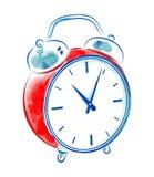 Vintage alarm clock royalty free illustration