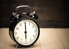 Vintage Alarm clock. Royalty Free Stock Image