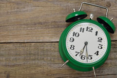 Vintage alarm clock Royalty Free Stock Photo