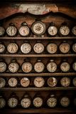 Vintage alarm clocks Royalty Free Stock Photos
