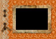 Vintage album page 23. Royalty Free Stock Image