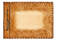Free Vintage Album With Brown Leather Cover Stock Photos - 24788363