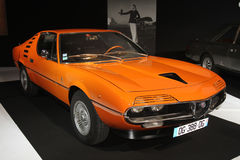 Vintage Alfa Romeo on Paris Motor Show 2014 Stock Image