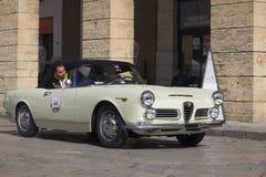 Vintage alfa romeo spider 2600 Royalty Free Stock Images