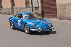 Vintage Alpine A 110 (1971) Royalty Free Stock Image