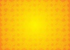 Vintage amarelo Imagem de Stock