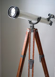Vintage amateur telescope Stock Photo