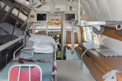 Vintage Ambulance interior during Los Angeles American Heroes Ai Stock Photos