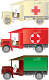 Vintage Ambulances Stock Photography