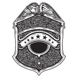 Vintage american badge emblem Royalty Free Stock Photography
