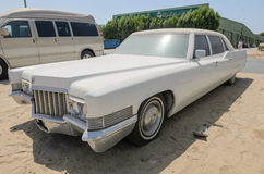 Vintage american Cadillac fleetwood limousine Royalty Free Stock Photography